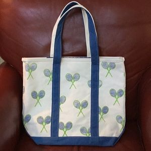 Crabberries Preppy Tennis tote bag by Crab & Cleek